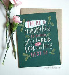 Modern geek Valentine's Day cards.