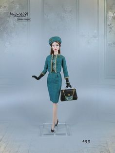tenue outfit + accessoires pour fashion royalty barbie silkstone vintage #1611   eBay