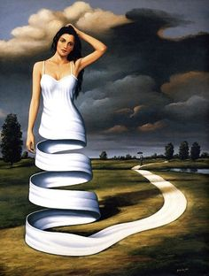 Rafal Olbinski's adventure world - ego-alterego.com