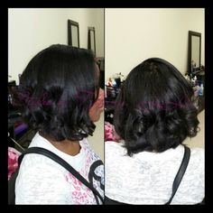 Layered Bob with soft spirals Book with me online http://www.stylesbytiffanyllc.com/hair.html