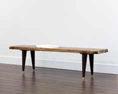 ATLAS BENCH - LIVE EDGE - Benches - Ottomans And Benches - Products