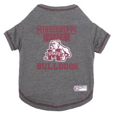 Mississippi State Bulldogs Dog T-Shirt. Let your pet ... 7cc38f82e
