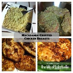 Macadamia Crusted Chicken #Paleo #Primal
