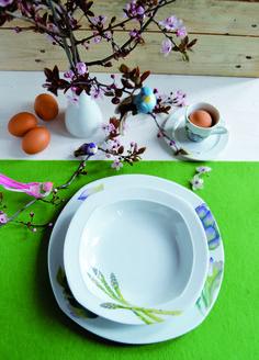 Quest'anno #Pasqua si tinge di #fiori e dei delicati #ortaggi della collezione Verdure Italiane