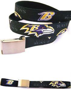 Baltimore Ravens NFL Belt