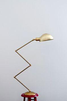 Diy home decor projects: diy brass lamp