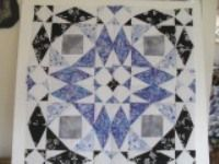 Storm at sea quilt block with tutorial and video  Block ends up 15 1/2