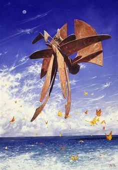 The Bird King: Sea Butterflies, gouache and coloured pencil 1994 ...