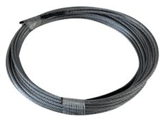 2 10ft. (20ft. total) Fuse Cut and Coiled 7x7 GAC for only $5.00 Galvanized Aircraft Cable  Breaking Strength 920 lbs.