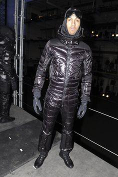 Bomber Jacket Men, Leather Jacket, Cool Jackets, Winter Jackets, Down Suit, Pvc Raincoat, Bib Overalls, Moncler, Arctic