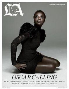 The lovely Viola Davis....