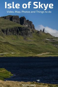 Things to do in Skye island - Discover the Jewel of Scotland with a list of 20 highlights (Fairy pools, Storr, Kilt rock. This guide includes photos, video and a Map to help your plan your trip to the isle of Skye - Scotland Travel Guide, Scotland Vacation, Scotland Road Trip, Scotland Tours, Scotland History, Ireland Vacation, Europe Destinations, Europe Travel Tips, European Travel
