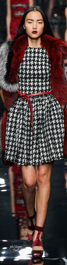 Ermanno Scervino Fall 2015 RTW - spine-crushing coolness