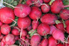 radishes on market day
