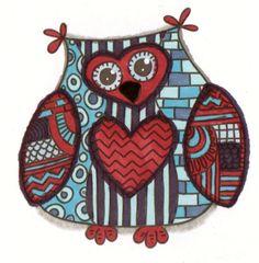 'Funky Mr. Owl' by Danemi
