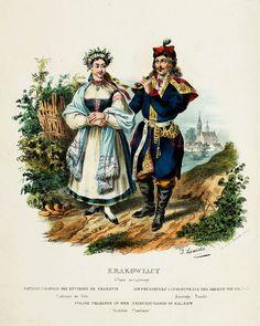 Польский костюм-Книга 1841 года.. Обсуждение на LiveInternet - Российский Сервис Онлайн-Дневников