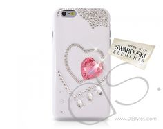 Inside Heart Bling Swarovski Crystal iPhone 6 Case  (4.7 inches)