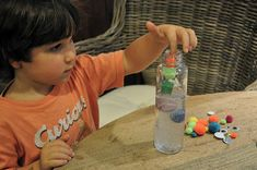 We love using Discovery Bottles at The Little Nook to accompany our weekly themed lesson plans. Most of the time we fill them with rice an. Minion Gifts, Craft Projects, Projects To Try, Discovery Bottles, Sensory Bottles, Preschool Curriculum, Toddler Activities, Lesson Plans, Nook