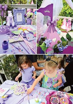 Royal Purple Sofia the First Birthday Party princess birthday party crafts Princess Sofia Birthday, Sofia The First Birthday Party, Third Birthday, 4th Birthday Parties, Birthday Ideas, Princess Party, Purple Birthday, Happy Birthday, Birthday Activities