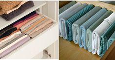 Los cajones son la clave para poner orden en el armario. Con estos consejos vamos a aprovecharlos mejor.