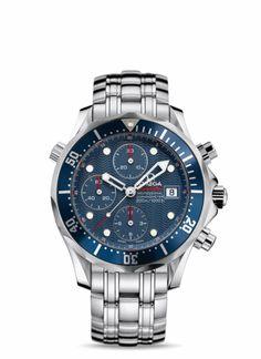 OMEGA Watches: Seamaster 300 M Chrono Diver - Steel on steel - 2225.80.00 @ http://www.omegawatches.com/gents/seamaster/300-m-chrono-diver/22258000