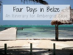 Four days was not enough, but four years would not really be enough either. Belize is extremely diverse and has a ton to see and do. However, when you cannot, or do not want to, give up your career to travel full-time you take what you can get. Belize Honeymoon, Belize Vacations, Belize Travel, Honeymoon Ideas, Top Travel Destinations, Places To Travel, Caye Caulker Belize, Belize Ambergris Caye, Belize Snorkeling