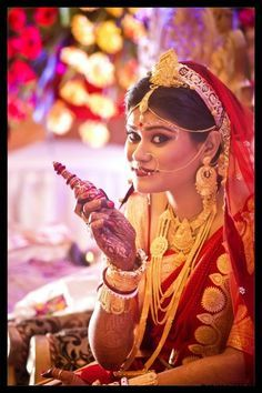 Make Up Dairies Of A Bengali Bride