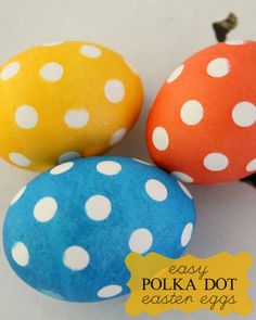 Super easy Polka Dot