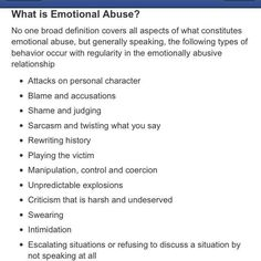 healing from emotional abuse quotes | What is emotional abuse?