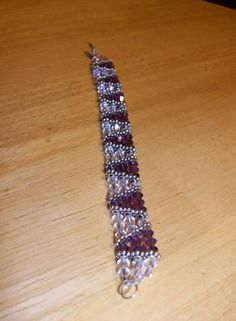 My purple bracelet...