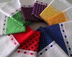 Kit Colors 10 Panos de Prato