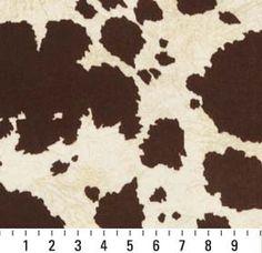 microfiber splotchy cow from same dealer