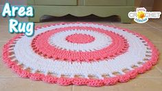 Beautiful Area Rug - Crochet Tutorial - YouTube