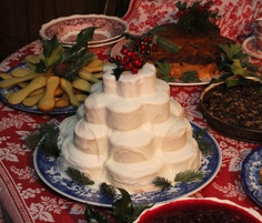 Pyramid Pound Cake -- Holiday Nights in Greenfield Village