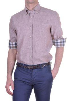 a16f67afaf5 Men s Shirt DELSIENA - solid - beige