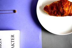 Croissant,książka i naszyjnik INFINITY. #popfactory