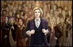 What are the possible explanations for the mysterious Jo Martin's Doctor! - Doctor Who Brasil Who 13, Dr Who, Serie Doctor, Peter Davison, Fanart, 13th Doctor, Doctor Who Art, Don't Blink, Dalek