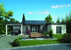 An Autonomous Energy Home - Plan Detail of A Self-Contained Energy Home Maison Mca, Passive House, House Built, Exterior Colors, Modern House Design, Habitats, House Plans, Construction, Sweet Home