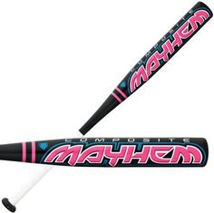 Worth Girls FPM11-29/18 ASA Fastpitch Softball Bat (29-Inch) by Worth. $39.95. Worth brings back the Mayhem Composite for fastpitch players that are looking for a high performing lightweight bat! With a barrel made from 100% Composite materials, the Mayhem is one of the highest performing bats for money. The lightweight and balanced feel of the Mayhem provide for maximum bat control and consistency. The optimized flex of the Mayhem allows for maximum batted ball sp...