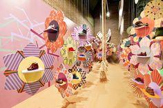 Kids Shoe Brands exhibition at FIMI by Masquespacio, Valencia – Spain exhibit design