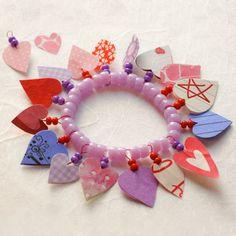 Disney Valentine Crafts: Charm Bracelet (Cinderella)   Spoonful