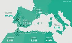 Cork forests in the mediterranean region