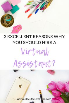 Growing your business can mean more work and more stress. Take a look at these 3 excellent reasons why you should hire a Virtual Assistant.