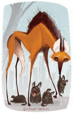 fox and hounds spank