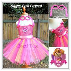 Skye Paw Patrol themed tutu by BootiTutu on Etsy