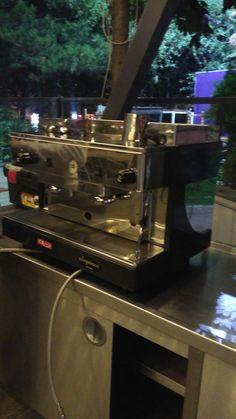 Mce second hand espresso machine ,like new