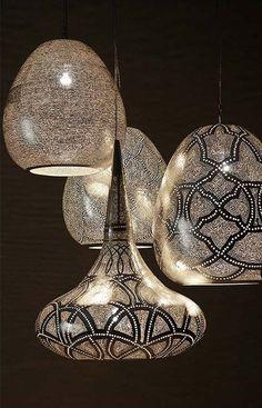 Egyptian inspired lights