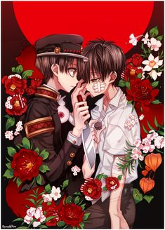 Manga Coloring by VermeilleRose. Original art (manga page) by Aida Iro. Anime Chibi, Cartoon As Anime, Manga Boy, Otaku Anime, Anime Art, Gothic, Cute Anime Wallpaper, Handsome Anime Guys, Estilo Anime