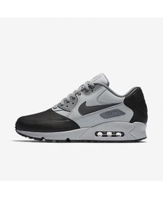 more photos ce841 6dbb0 Nike Air Max 90 Premium SE Wolf Grey Cool Grey Black Anthracite Mens