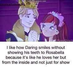 EAH Rosabella x Daring